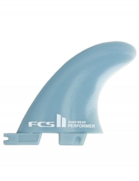 FCS II Performer GF Quad Rear Fins Medium - Grey