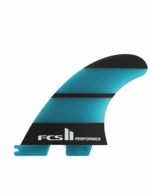 FCS II Performer Neo Glass Tri-Quad Fins Medium - Blue