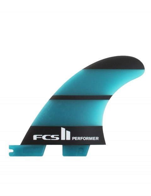 FCS II Performer Neo Glass Tri Fin X Small - Blue