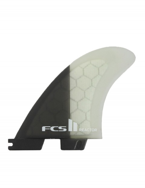 FCS II Reactor PC Tri Fins Medium - Charcoal