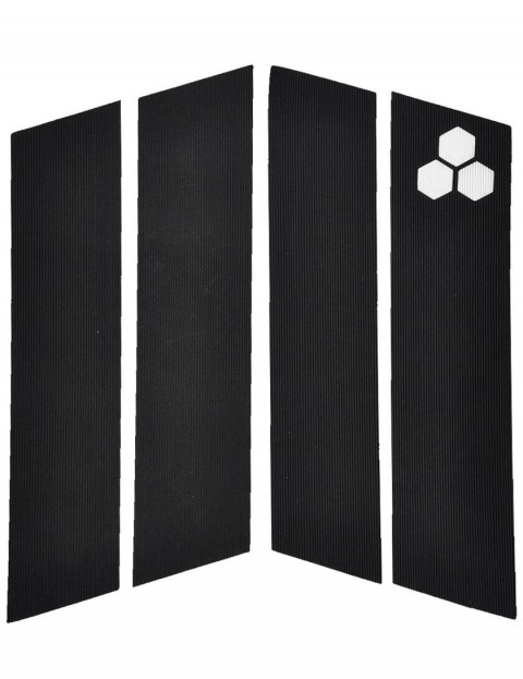 Channel Islands 4 Piece Front surfboard traction pad - Black
