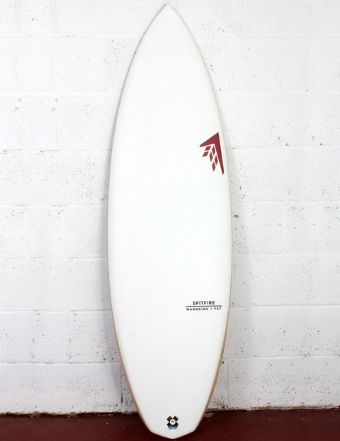 Firewire FST Spitfire Surfboard 6ft 0 Futures - White