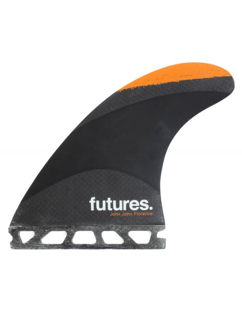 Futures John John Florence Techflex Tri Fin Set Medium - Orange Tip
