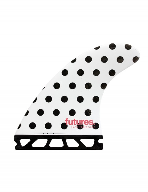 Futures Jack Freestone Generation Series Tri Fins Large - Polka/Stripes