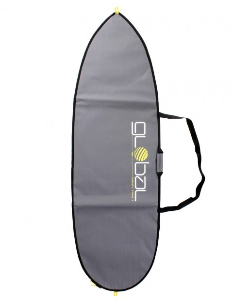 Global Twenty Four Seven Shortboard surfboard bag 5mm 7ft 0 - Grey