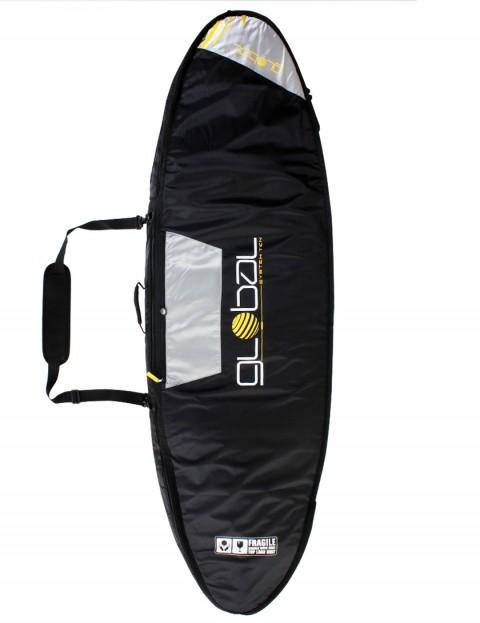 Global System 10 Double surfboard bag 10mm 6ft - Black