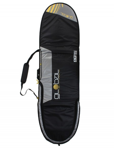 Global System 10 Mini Mal surfboard bag 10mm 7ft 0 - Black