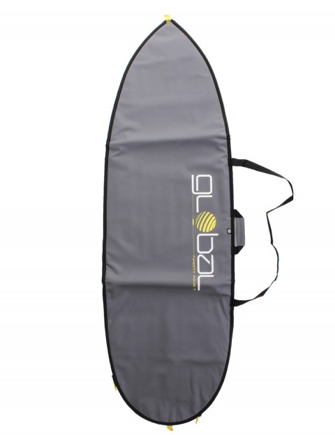 Global Twenty Four Seven Hybrid Fish surfboard bag 5mm 6ft 0 - Grey
