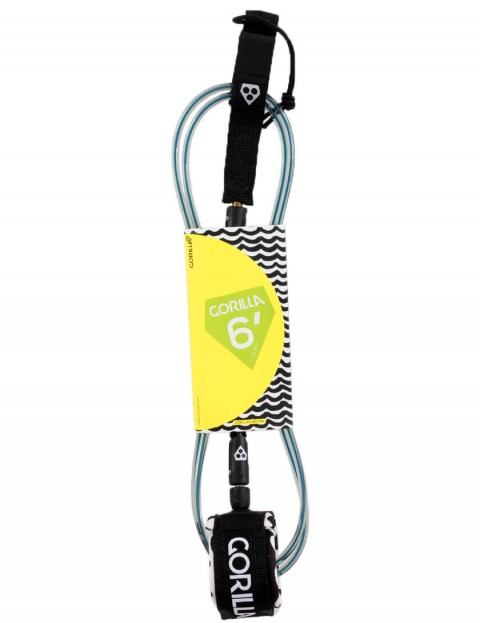 Gorilla Comp surfboard leash 6ft - Waves
