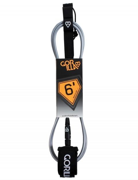 Gorilla Regular surfboard leash 6ft - Black