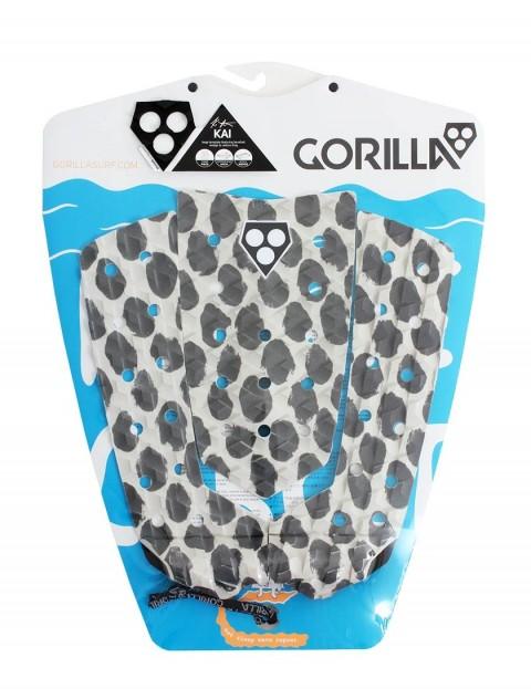 Gorilla Kai Stroked Surfboard Tail pad - Grey
