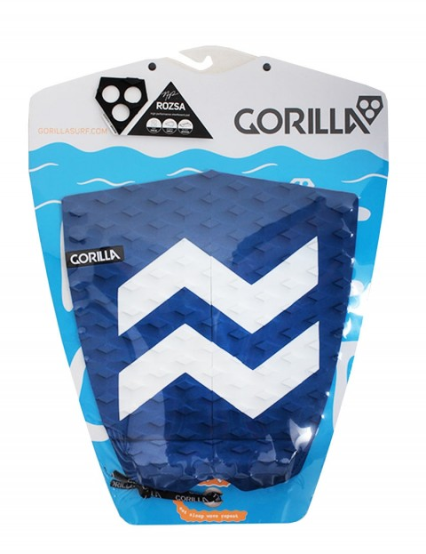 Gorilla Rozsa Zag surfboard tail pad - Blue