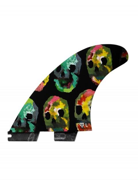Gorilla X FCS II On The Blob Tri-Quad fins Large - Multi Colour