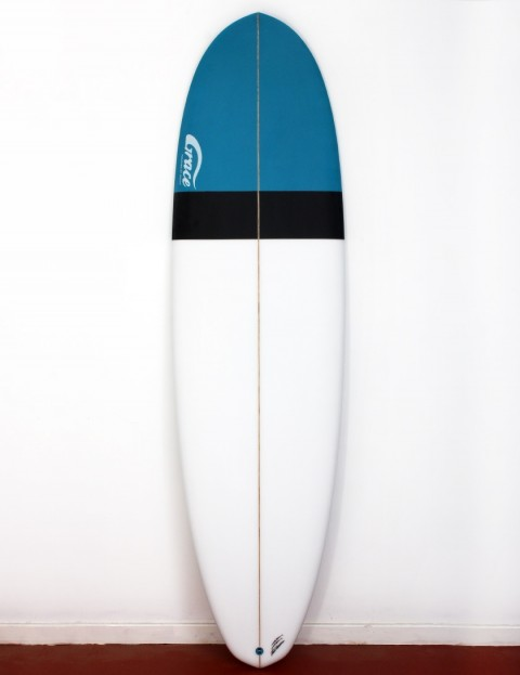 Grace Demibu surfboard 6ft 10 Futures - White