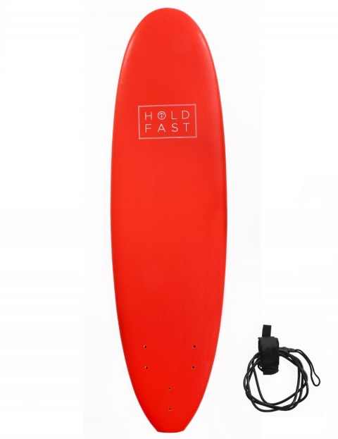 Hold Fast Kids Foam Surfboard 6ft 2 - Red