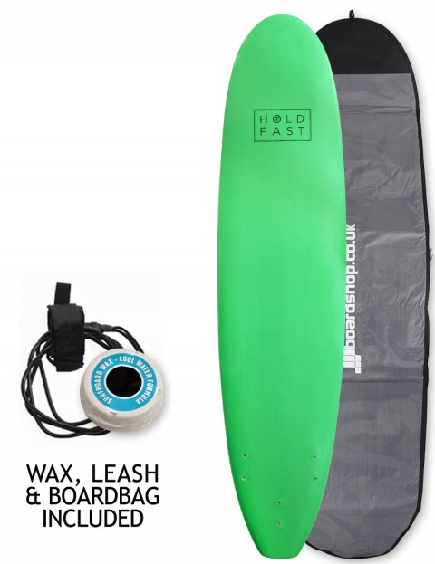 Hold Fast Mini Mal Foam Surfboard Package 8ft 0 - Green