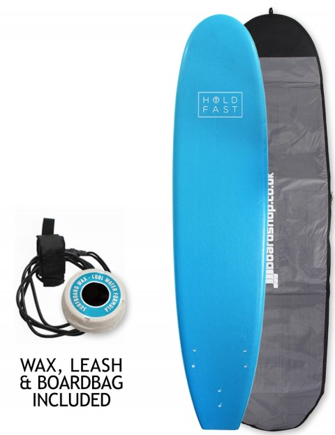 Hold Fast Mini Mal Foam Surfboard Package 8ft 0 - Blue