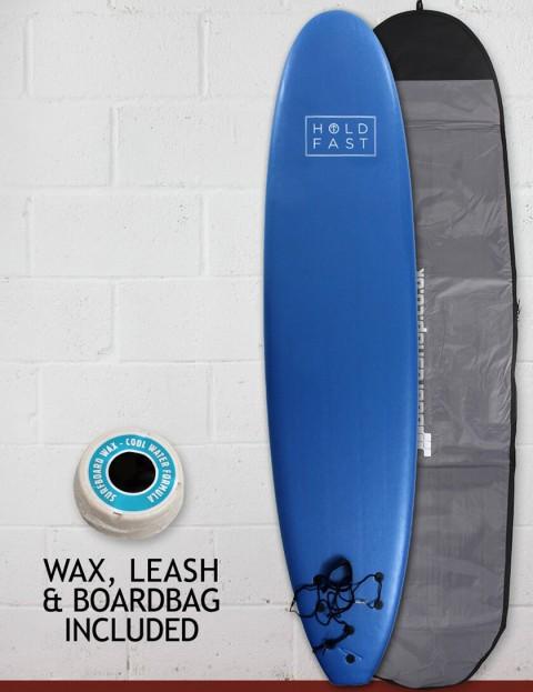 Hold Fast Mini Mal Foam Surfboard Package 8ft 0 - Royal Blue
