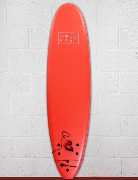Hold Fast Mini Mal Foam Surfboard 7ft 0 - Red