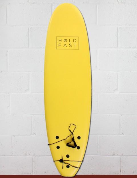 Hold Fast Kids Foam Surfboard 6ft 2 - Yellow