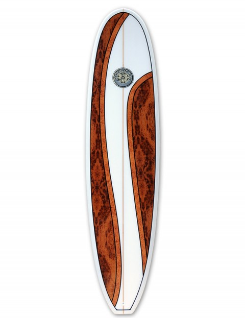 Hawaiian Soul Mini Mal surfboard 7ft 4 - Walnut