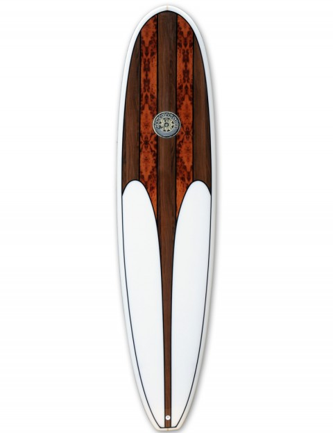 Hawaiian Soul Mini Mal surfboard 7ft 0 - Walnut