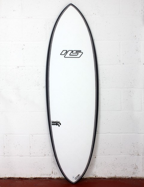 Haydenshapes Hypto Krypto FutureFlex surfboard 5ft 10 FCS II - White