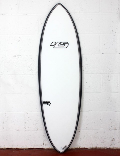 Haydenshapes Hypto Krypto FutureFlex surfboard 6ft 4 FCS II - Clear