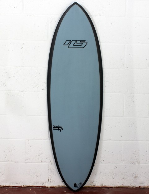 Haydenshapes Hypto Krypto FutureFlex surfboard 6ft 2 Futures - Blue Tint