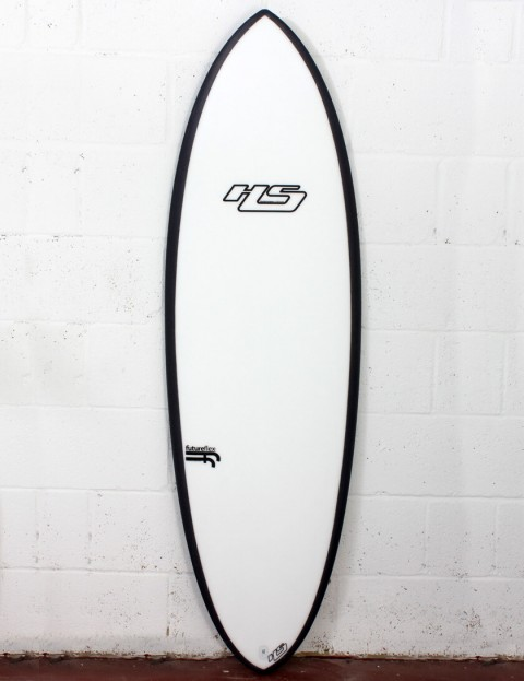Haydenshapes Hypto Krypto FutureFlex surfboard 5ft 10 Futures - White