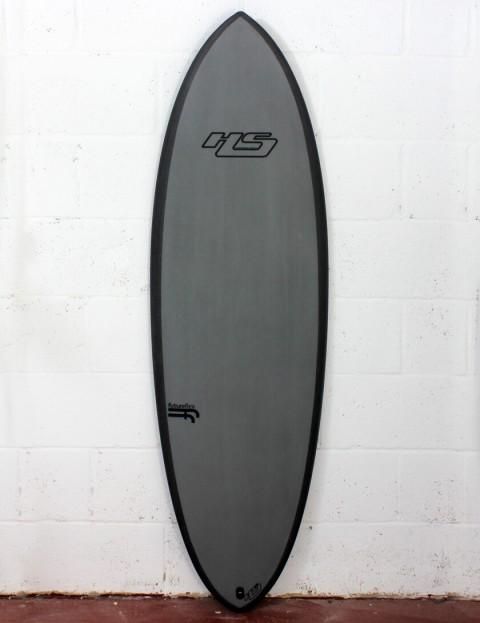 Haydenshapes Hypto Krypto FutureFlex surfboard 5ft 10 Futures - Grey Tint