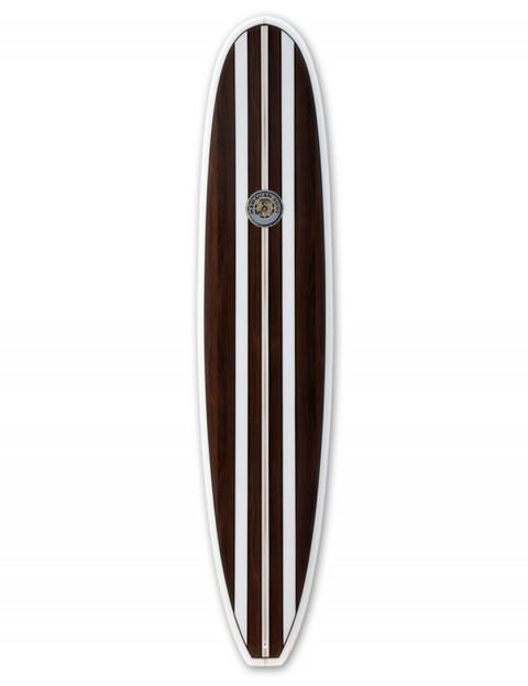 Hawaiian Soul Veneer Mini Mal surfboard 7ft 4 - Mahogany