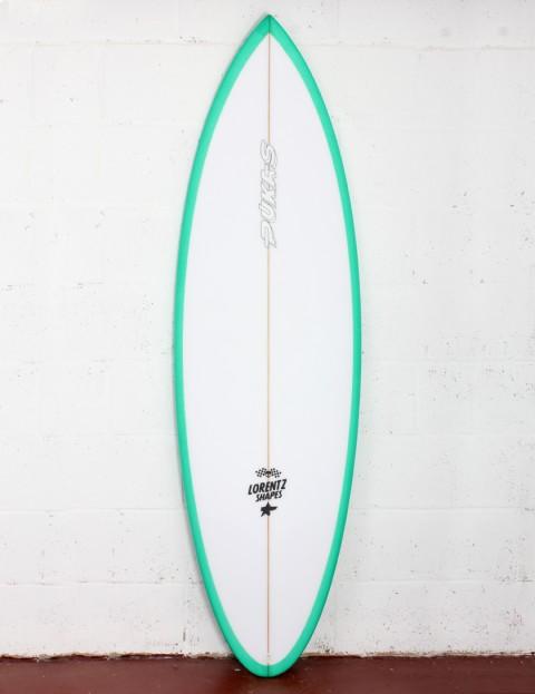 Pukas 69er Pro surfboard 6ft 3 Futures - Bright Green