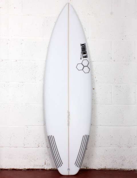 Channel Islands Sampler surfboard 6ft 0 Futures - White