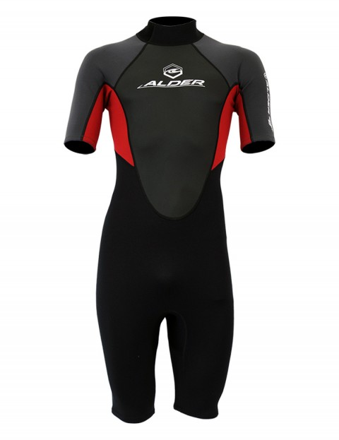 Alder Impact Shorty 3/2mm wetsuit 2017 - Red