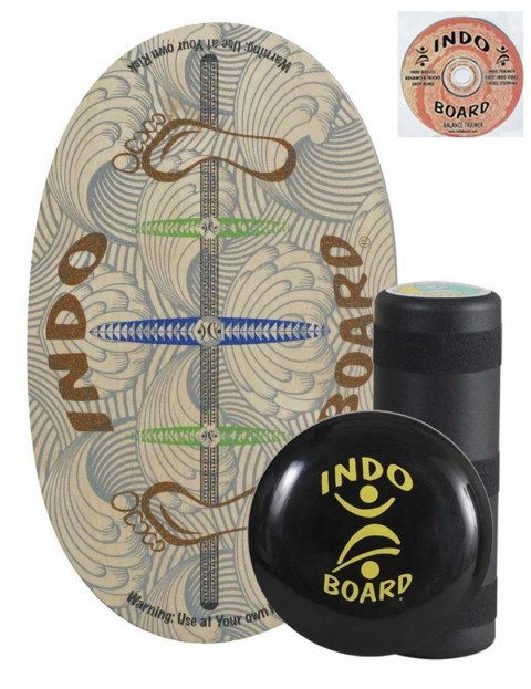 Indo Board Original Training Pack Balance Trainer - Barefoot