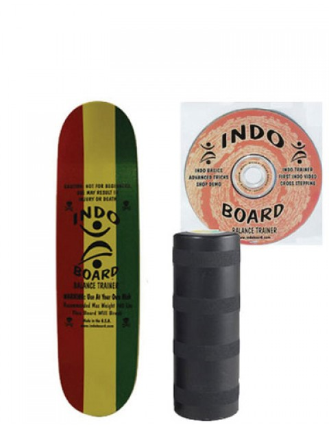 Indo Board Mini Kicktail Balance trainer - Rasta