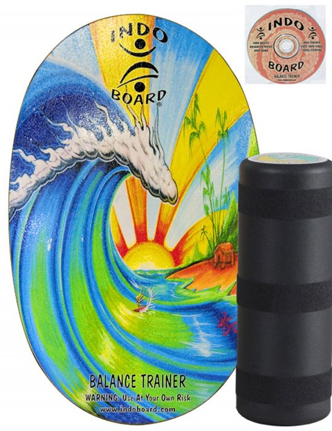 Indo Board Original Balance trainer - Bamboo Beach
