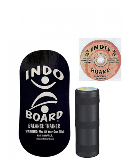 Indo Board Rocker Pack Balance trainer - Black