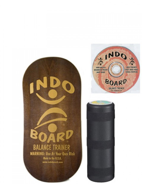 Indo Board Rocker Pack Balance trainer - Brown