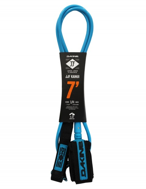 DaKine John John Florence Kainui surfboard leash 7ft - Black/Blue