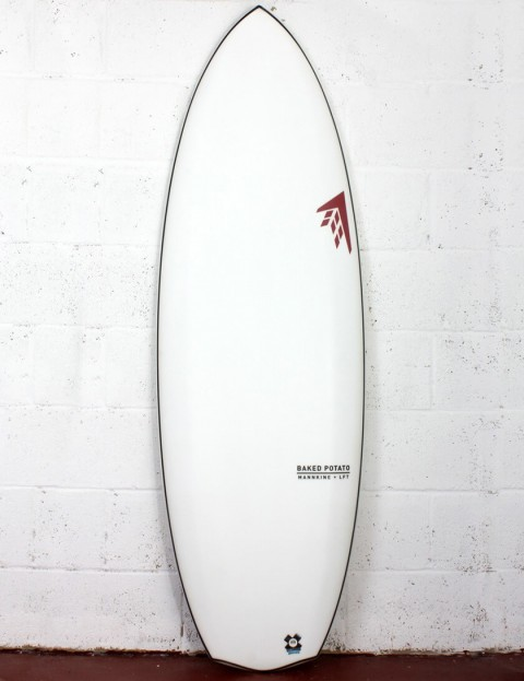 Firewire LFT Baked Potato Surfboard 5ft 3 Futures - White