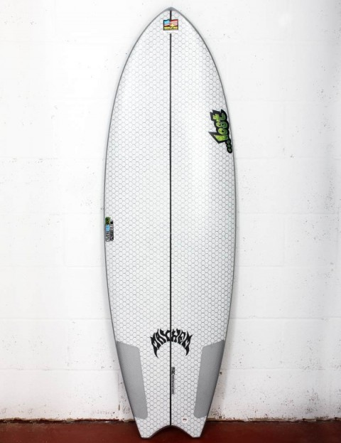 Lib Tech X Lost Puddle Fish surfboard 5ft 8 - White