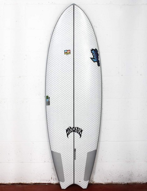 Lib Tech X Lost Puddle Fish surfboard 6ft 0 - White