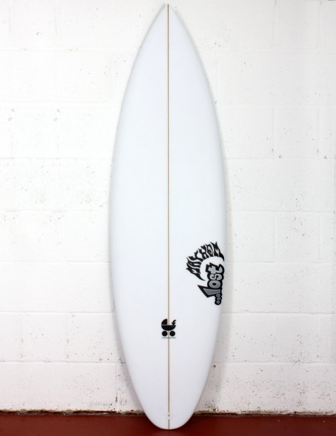 Lost Baby Buggy R-4C surfboard 6ft 4 FCS II - White