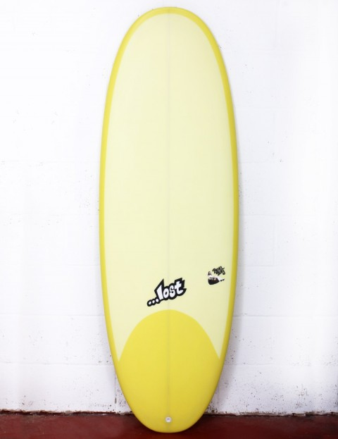Lost Bean Bag Surfboard 5ft 10 FCS II - Yellow