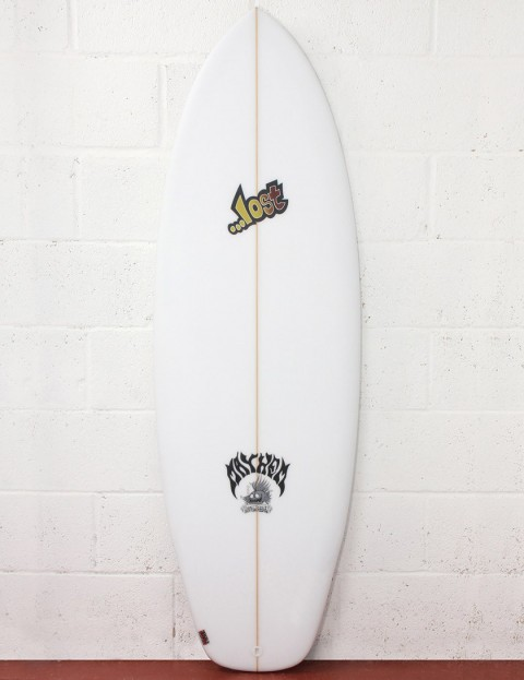 Lost Surfboards Bottom Feeder Surfboard 5ft 8 FCS II - White