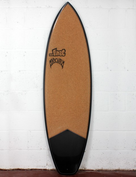 Lost Short Round Surfboard C3 Carbon Cork 6ft 2 FCS II - Grey Detail