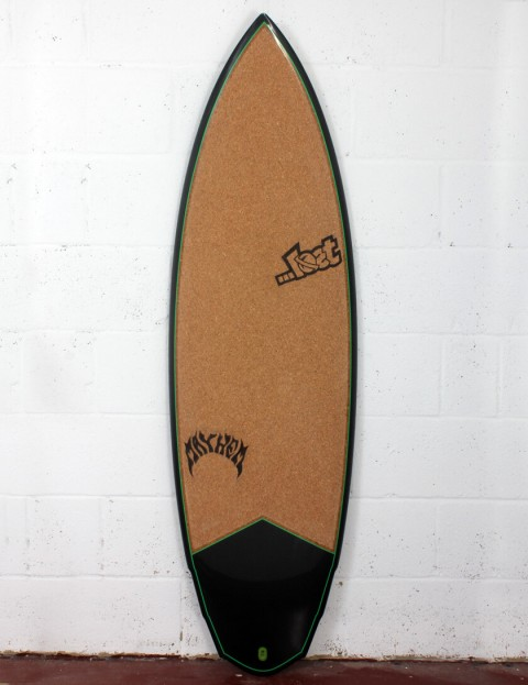 Lost V3 Rocket Surfboard C3 Carbon Cork 5ft 8 FCS II - Green Detail