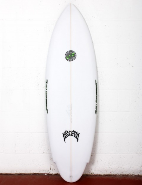 Lost Evil Twin surfboard 5ft 10 Futures - White